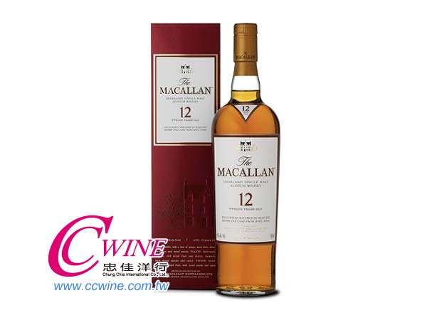 Macallan���d��12�~Sherry Oak��@�³��¤h��<font color=&quot;red&quot;>