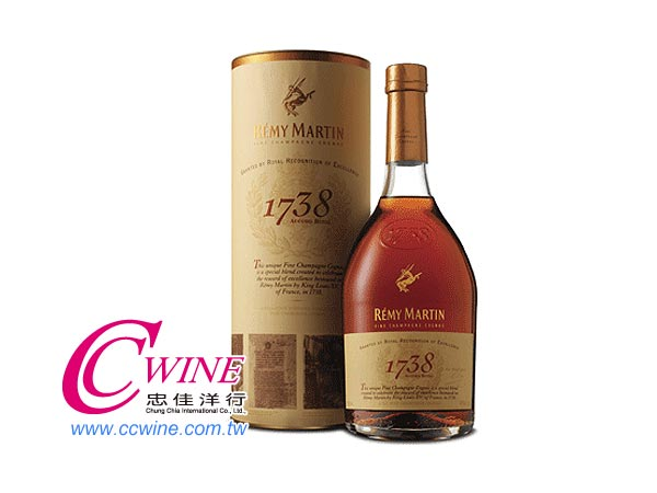 Remy Martin人頭馬1738特優香檳干邑<font color=&quot;red&quot;>