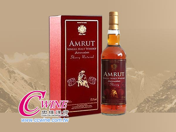 Amrut Intermediate Sherry Matured阿穆特中級雪莉桶<font color=red>
