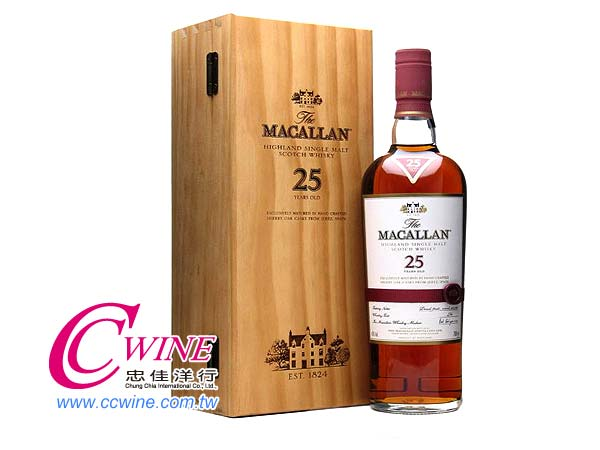 Macallan���d��25�~ Shweey Oak �����  (�s���첰)<font color=&quot;red&quot;>