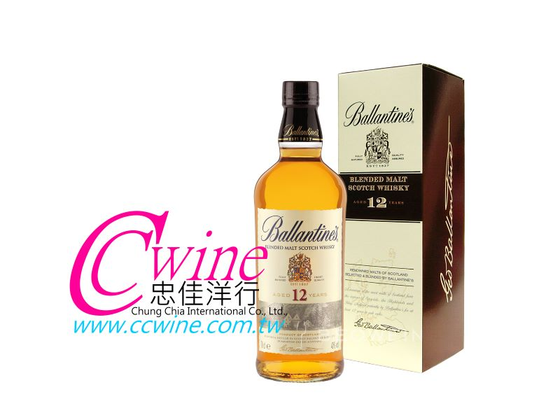 Ballantine's百齡罈12年蘇格蘭調和威士忌<font color=&quot;red&quot;>