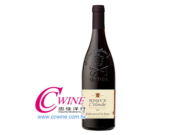 Vignerons-ROQUE COLOMBE RED, CHATEAUNEUF DU PAPE 隆河莊園-石中鳥紅葡萄酒<font color=&quot;red&quot;>