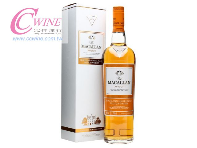 Macallan Amber 1824 Series Single Malt Scotch Whisky ���d��1824�t�C�[�ij�@�³�Ĭ�����¤h��