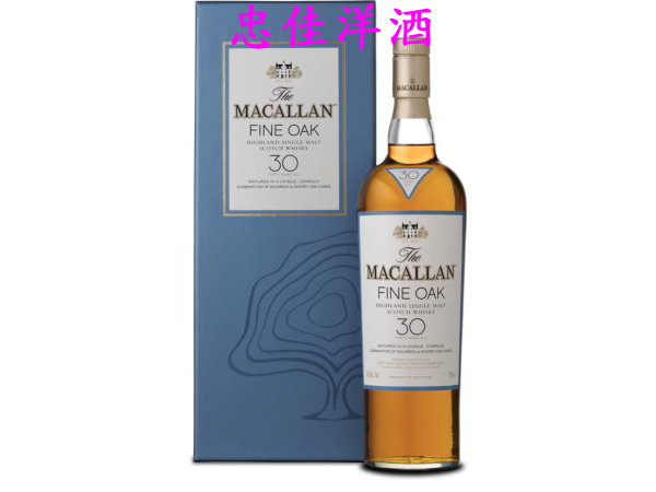 Macallan���d��30�~Fine Oak��@�³��¤h��
