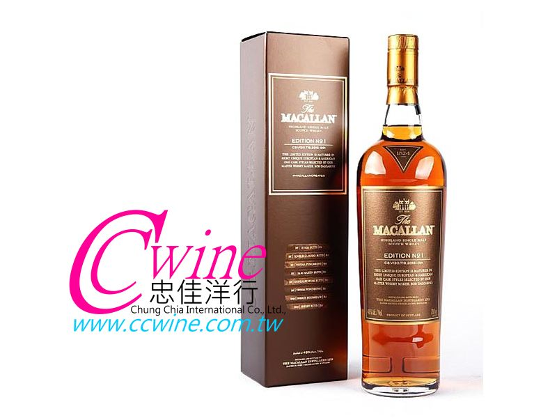 Macallan���d��Edition No.1��@�³��¤h��